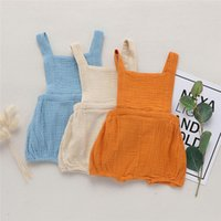 INS Newest Summer Toddler Baby Boys Overalls Rompers INS Cot...