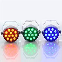 LED Par 18W RGB fase luce par luce LED con DMX512 per la macchina proiettore discoteca del DJ del partito della decorazione di illuminazione della fase