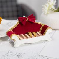 Kreative Europäischen stil sofa dekoration schmuck rack Sofa ohrringe ring hause lagerung ornamente schmuck display handwerk
