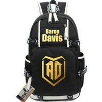 Baron Davis Backpack BD Rucksack Daypack Cool Day Bag Laptop Packsack Good Star Sport Door Pack Logo School Out Schoolbag Ejpbm
