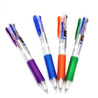 2pcs Creative Four In One Ballpoint Pens 0. 7mm Colorful Ink ...