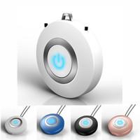 Mini Collier Purificateur d'air portable Collier d'air portable Ferrinissage d'air Oxygen Anions Port USB Nettoyant pour les enfants Adultes