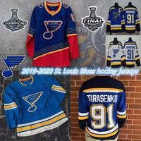 2019 Stanley Cup Şampiyonlar Jersey St. Louis Blues 50 Binnington Schwartz 90 Ryan O Reilly Colton Parayko Schenn 91 Vladimir Hokey Formaları