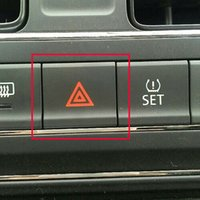 Aviso Button Switch Hazard Luz de emergência Para Polo 2014-2018 6RD953509A
