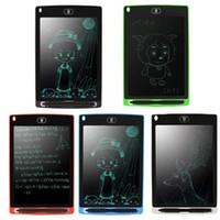 LCD 작성 태블릿 그리기 8.5 인치 보드 메모 패드 전자 노트북 펜 DHL 무료