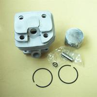 Комплект цилиндров 43 мм для SHINDAIWA бензопила 488 47.9 CC цепная пила цилиндр поршневое кольцо контактный зажим в сборе # 22157-12110