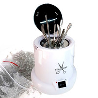 معقم للمسامير درجة الحرارة العالية أدوات التعقيم مربع التطهير صندوق أدوات الأظافر زجاج كرات مانيكير