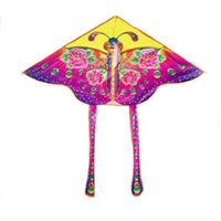 Kite new wholesale rain silk butterfly triangle kite childre...