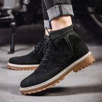 Venta-militar caliente combatir el trabajo táctico para mujer para hombre de la bota del tobillo Martin invierno de lujo de diseño de los altos hombres de las mujeres patea los zapatos TY-39