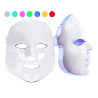جديد الكورية الضوئي الصمام الوجه قناع المنزل استخدام صك الجمال مكافحة حب الشباب الجلد تجديد الصمام الضوئي الجمال قناع الوجه