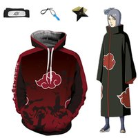 Asian Size Anime Naruto Red Hokage Unisex Cosplay Costume Ha...