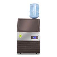 Beijamei máquina de fabricante automático de gelo fresco 96kg Cubo de gelo quadrado comercial fazendo máquinas para loja de chá grande barra