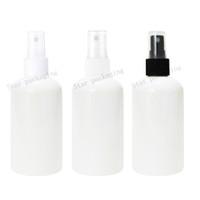 40pcs / lot 250ml weiße feiner Sprüher Pumpe leere Plastikflaschen, Plastik 8,4 Unzen Parfüm Sprühflasche Pumpsprühflasche 250er Fläschchen