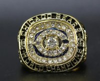 Atacado Super Bowl 1985 Cubs Champion Anel Factory Direct