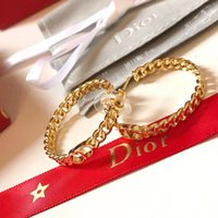 Hot sale Brand name Earring luxury quality hollow words in 1...