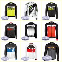 SCOTT team Cycling Winter Thermal Fleece jersey de alta calidad 2019 Maillot Ciclismo Ropa tops para el invierno U52445