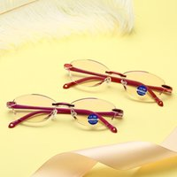 Men Women Frameless presbyopic glasses Eyewear Reading Glass...
