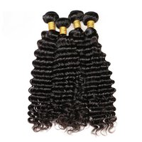 Ukiss Hair Deep Wave 3 bundles Natural Color 1B Brazilian Pe...