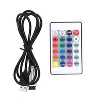 1 CONJUNTO DC 5 V Mini IR 24 CHAVE RGB Controle Remoto para RGB LED Light Strip USB
