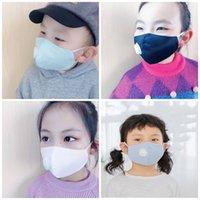 Protéger MULTICOUCHE Masque Visage Pure Color Valve de reniflard Anti respirateurs Saliva poussière Masques bouche PM2,5 respirateurs Mascherine Kid 3 2 mJ E19