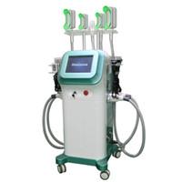 360 degrés de refroidissement Cryolipolysis machine Fat Gel Amincissant Cavitation Fat réduction RF peau de levage Cryolipolysis Équipement