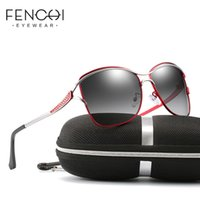 FENCHI Polarized Women Sunglasses 2020 Oversized Alloy UV400...