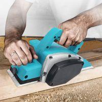 1000W électrique à main Planer fichier à bois puissant outil Set