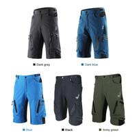 Lixada VTT Cyclisme Sport Respirant Loose Fit Shorts Outdoor Vêtements Course à pied Cyclisme Casual avec poche zippée