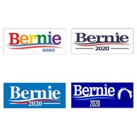 2020 ABD Seçim Cumhurbaşkanı Adayı Bernie Sanders Sticker 4 Stil Tampon Araç Dekor Sticker çıkartma 10pcs / set DDA26