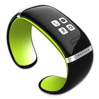Smart-Armbanduhr L12S OLED Bluetooth Smart Watch unterstützt Phone Call Reminder Pedometer Passometer intelligente Armbanduhr für IOS Android Phone