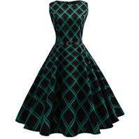 Mulheres 50 s 60 s retro vintage dress verão floral print balanço rockabilly robe femme vestidos sexy festa audrey vestidos com cinto