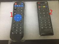 جهاز التحكم عن بعد 10PCS العالمي IR مع وظيفة التعلم لالروبوت التلفزيون مربع H96 MXQ الموالية TX6 T95X T95Z زائد TX3 X96 مصغرة