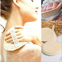 10cm Round Shaped Natural Loofah Pad Exfoliating Face Sponge...