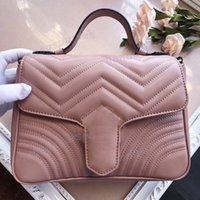 lujo hombro bolso de mano bolsas de cámara bolsa monedero del diseñador bolsos bolsas hombro del cuero genuino bolso de Crossbody cartera