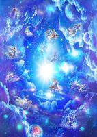 Пользовательские любой размер фото Двенадцать созвездий потолков стенных 3d обоев потолочных фресок