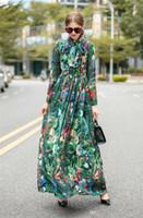 Beiläufige Kleider Elegante Fliege Zipper Panelled Frauen Desigenr Kleider Casual Frauen Kleidung Blumendruck der Frauen