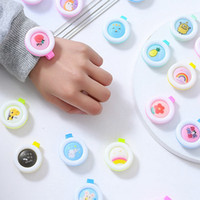 Portable Anti-Mosquito Buckle Insect Clip Repellent Badge Anti-mosquito Cartoon Cute for Baby Mosquito Repellent Button HHA1261-H