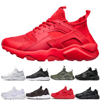 Triple Red Huarache 4. 0 1. 0 Running Shoes luxury green grey ...