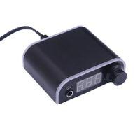 문신 기관총 펜 18V 디지털 LCD 디스플레이 미니 문신 전원 공급 장치, 경량 무지개 문신 전원 공급 장치,,, 2A