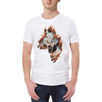 2019 Mens Summer Tees Plus Size T Shirt Short Sleeve 3D Lion...