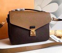 2019 Alta Qualidade Mulheres Designer Messenger Bag Mulheres Bolsa de Couro Metis Metis Sacos Crossbody Bags