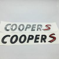 لكوبر S الخلفي جذع شارة شعار رسائل ملصق لBMW MINI كونتريمان كوبر