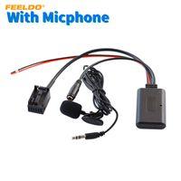 مشعوذ سيارة الصوت 12pin وحدة بلوتوث اللاسلكية استقبال AUX كابل لسيارات بي ام دبليو ميني كوبر / E39 / E53 / X5 / Z4 / E85 / E86 / X3 / E83 Music Aux Adapter # 6287