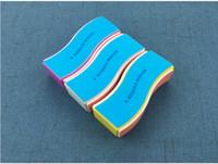 2019 новый ногтей губка пена наждачная бумага полировка буферный блок гель-лак французский наконечник формирование шлифовка полировка подачи блоков комплект DHL