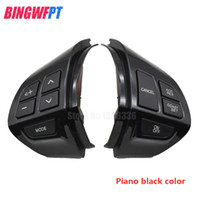 Direcção Botão Roda Áudio Cruise Control Mudar cor preta Para Mitsubishi Asx Lancer Outlander Rvr Pajero Esporte
