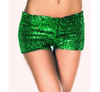 Moda Europea American sexy con lentejuelas bragas Sexy ladies body shaping briefs Cute girly boyshort Shorts Pantalones de rendimiento