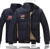 Doudoune chaude pour hommes en plein air Polo Doudounes extérieure rembourrée Manteaux en duvet pour homme Manteaux Homme