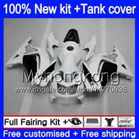 + Бак для KAWASAKI EX250 ZX250R 2008 2009 2010 2011 2012 201MY.41 Белый Черный EX250 ZX 250R EX 250 ZX250R EX250R 08 09 10 11 12 обтекателя