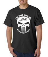 I' m The Infidel Warned You About Skull T Shirt Punisher...