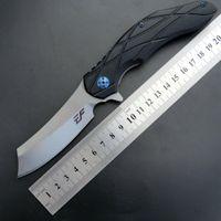 Os mais recentes Eafengrow EF919 faca dobrável canivete D2 Lâmina G10 Handle Survivcal Tactical Pocket Knife Camping Caça EDC ferramentas multi ker